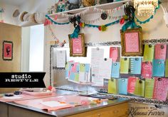 Craftroom Rhonna Farrer. Love thos little banners.