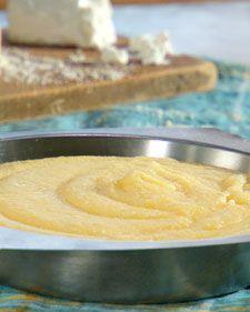 Creamy Polenta with Goat Cheese.   Lucinda scala