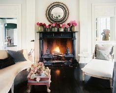 Fireside Chat-  Polished black