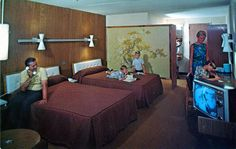 motel room #retromotel