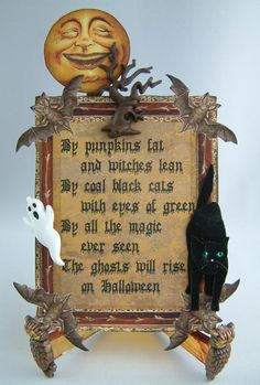 halloween poem, craft, pumpkin