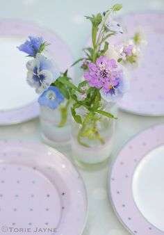 Summer table setting by toriejayne