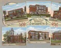 Public School Buildings, Cape Girardeau, MO, 1920. :: Postcard Collection