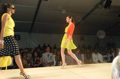 Chris Benz Spring 2012 Collection. Shown at Charleston Fashion Week. Taken by Ebony Looney