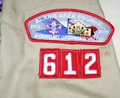How to sew on scout/ military patches