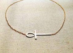 Vie en Vie ankh necklace