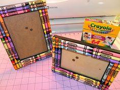 Crayon Frame - Teacher's Gift