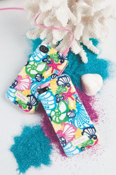 cute iPhone case from @Lilly Pulitzer