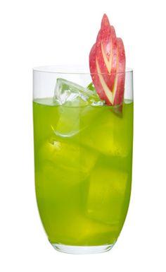 Love Junk - midori, peach schnapps, apple juice