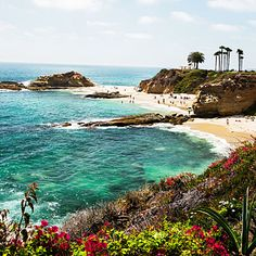 Most beautiful stretch of sand, Laguna Beach -- quite possibly my favorite place in Orange County.