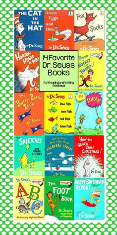 Dr. Seuss! - Reading and Writing Redhead