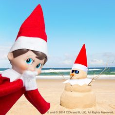 #ChristmasInJuly is almost here! We're building Sandmen today to get ready.