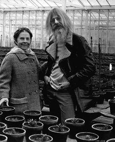 Ruth Gordon and  Hal Ashby, 1971.