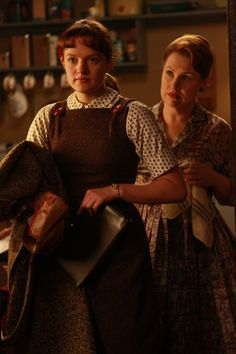 Mad Men (Peggy)... and her VERY catholic mother