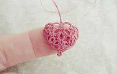 Li'l Heart (from Birgit Phelps' pattern)... linked to the actual pattern!