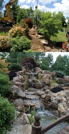 Transformation by Meyer Aquascapes in Harrison, OH.