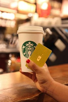The Gold Card: For Gold Level My Starbucks Rewards members.