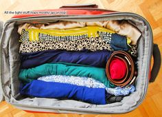 Be sure to pack extra outfits in your carry-on just in case your luggage gets lost or delayed!