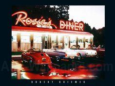 1950s desktop wallpaper | Rosie's Diner