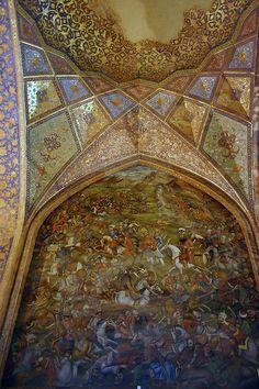 Chehel Sotun Palace, Esfahan, Iran
