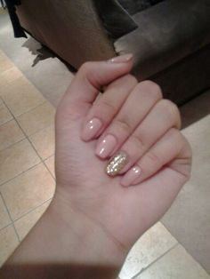 Nude nails by Zoya