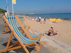 Bournemouth deck chairs