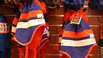 NEW MERCHANDISE!! Located at Team Store: Stadium Series logo winter hats.