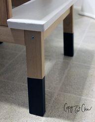 use plasti dip for stool legs!