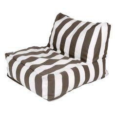 Eliza Bean Bag Chair in Chocolate