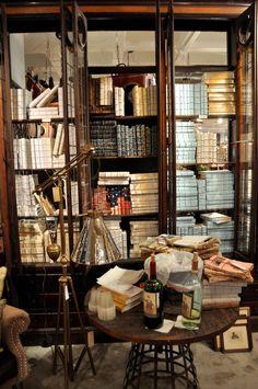 wine, mirror, glass doors, bookshelf styling, bookcases, glasses, library shelves, librari, book rooms