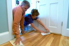 with This Old House general contractor Tom Silva | thisoldhouse.com | from How to Refinish Hardwood Floors
