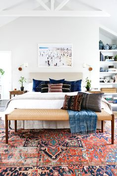 Great colorful & tasteful rug