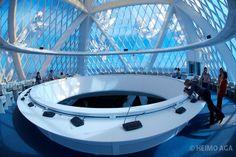 Inside the pyramid-shaped Palace of Peace & Harmony by star architect ...