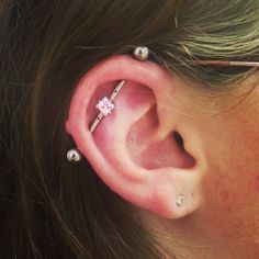 Industrial Bar on Pinterest | Industrial Piercing ...