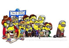 Minions as Dr Who