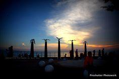 Sunset at Pantai Mor...
