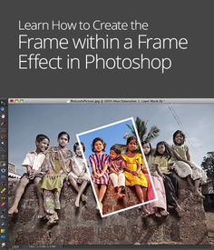 Frame within a Frame Effect in Photoshop