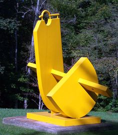 powder coated and welded in tilts Sculpture