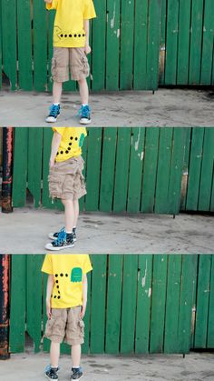delia creates: Rainbow: Fabric Painted Boys T-shirt Inspiration, onsie with dots (pencil eraser)