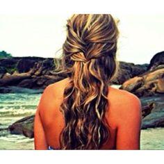 Beach hair:)