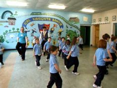"""Circus Horses"" a great movement activity for fast and slow movements"