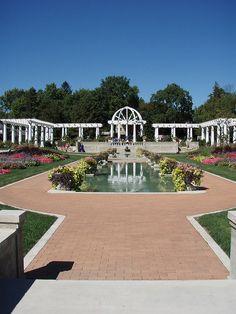 Rose Garden, Ft Wayne Indiana