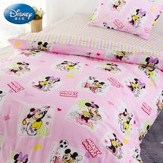 Mickey Mouse Pink Luxury Disney Bedding Sets