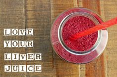 Love Your Liver Juice & SPUD Juicing Program. The first juice I made was a liver detoxification juice, based on a recipe included in my produce box. This juice promotes the flow of bile and fat to and from the liver. The liver is the most important organ for metabolism and detoxification so if you are looking to lose weight and clean up your system, this juice is for you!