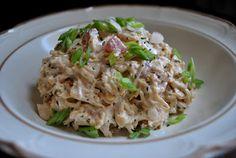 low carb chicken salad, almonds, southwest chicken, lowcarb, chicken salads, food, carb review, low carb recipes, rotisserie chicken