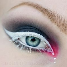 WHITE eyeliner. https://www.makeupbee.com/look.php?look_id=89489 OMG!!! why hasn't this been done before??? oh wait, wasn't this a thing in the sixties?