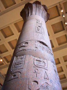** ARQUITECTURA ::: CONSTRUCCIÓN EN PIEDRA - Columna egipcia de piedra de GRANITO - Clasificamos piedras en tres grupos : ERUPTIVAS, SEDIMENTARIAS Y METAMÓRFICAS. El GRANITO es ERUPTIVA PLUTÓNICA son piedras resistentes y duraderas que admiten la talla y el pulimiento, de gran belleza, sobre todo el granito era el más abundante. Componentes: Cuarzo, Ortosa y Biotita. Magnífico aspecto natural, variedad de tonos, fabuloso para trabajar a compresión, para construcción de grandes obras