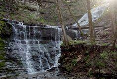 jackson falls - natchez trace