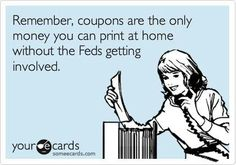 I'm a coupon lover and I'm not ashamed! Every sunday morning get the paper and go for a hunt, then zip out to the store!