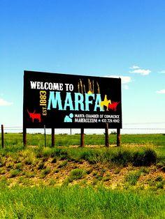 Marfa sign